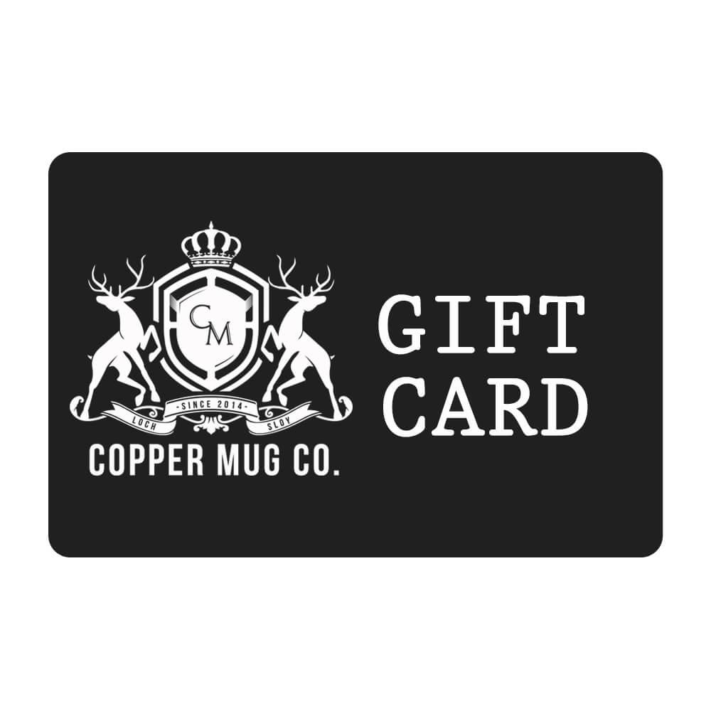 COPPER MUG GIFT CARD