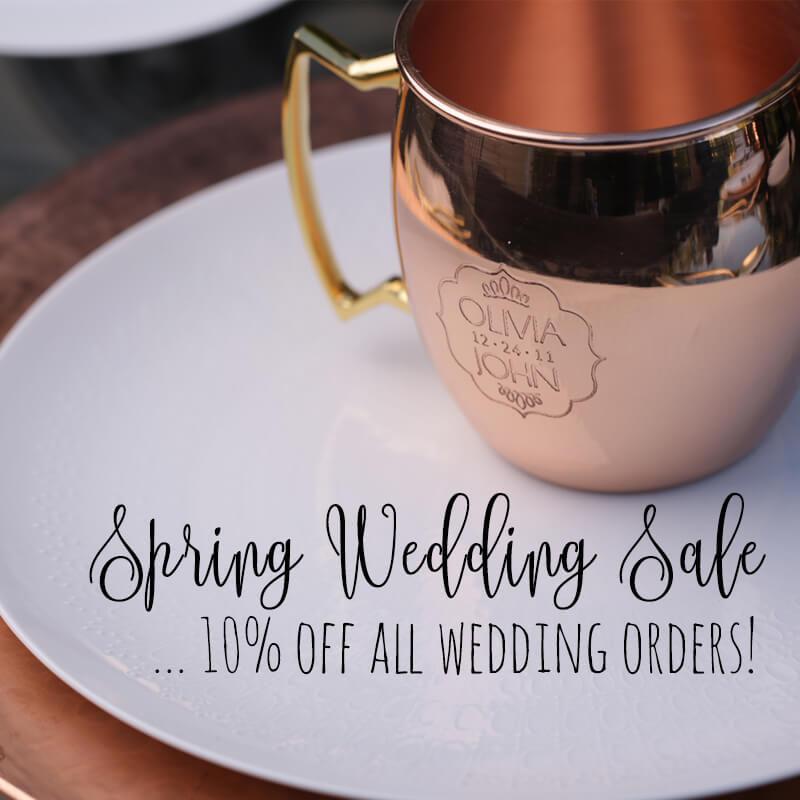 Spring Wedding Sale