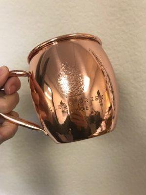 Clear Creek Tahoe Custom Copper Mug & Wholesale Copper Mug