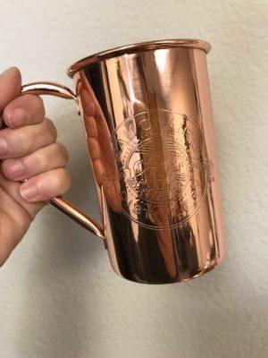 Tidal Boar Ginger Beer Custom Copper Mug & Wholesale Copper Mug