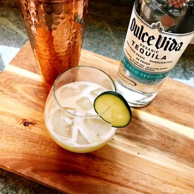 Hammered_Copper_Cocktail_Shaker_Cucumber_Margarita